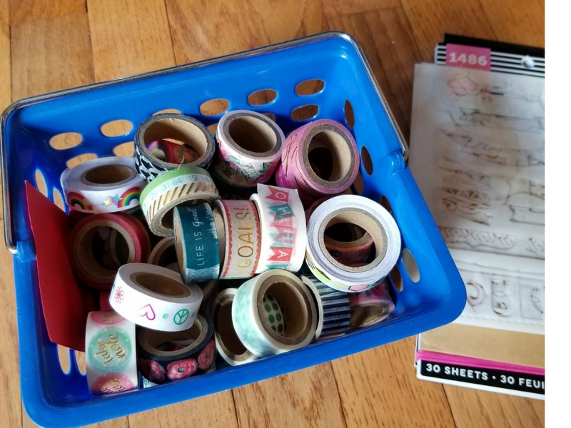 My washi tape stash