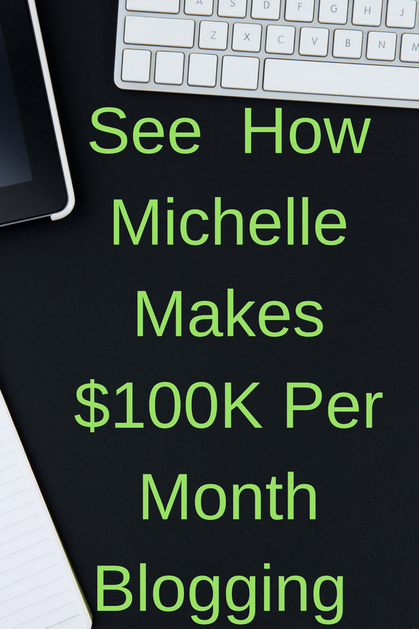 Here's how Michelle of making sense of cents makes over $100K each month. She paid off her college debt, and shares tips on personal finances, side hustles, and even writes an income report each month. Good stuff if you want to enjoy life a bit more ;)